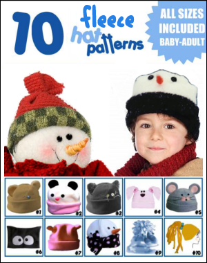 Fleece Hat Pattern  d781ab305f4