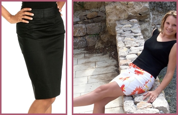 pencil skirt samples